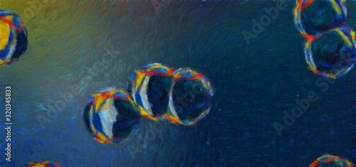 Fotografija Oil pastel drawing