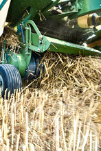 Tractor Makes Straw