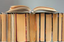 Open Hardback Book, Diary, Fan...