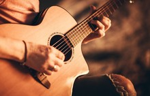 Singer With Acoustic Guitar