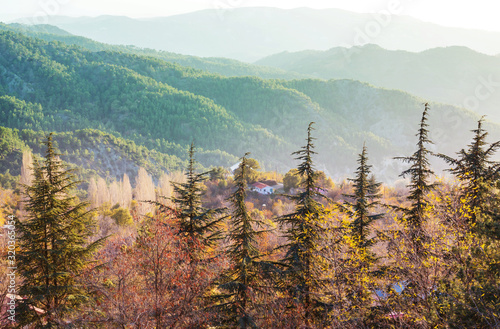 Fotografiet Mountains in Cyprus