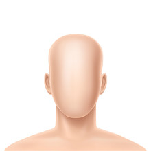 Vector 3d Realistic Faceless H...