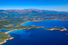 Beautiful Aerial Shot Of Villa...