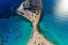 Aerial View Of Simos Beach In ...