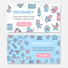 Pregnance Banner Poster Card A...