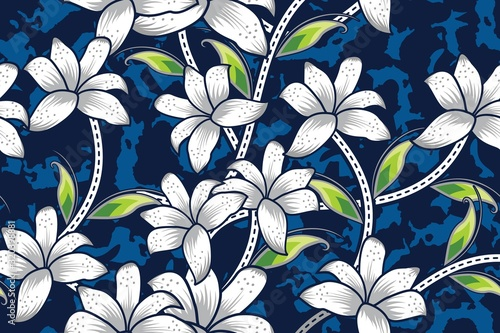 seamless-pattern-with-floral-vector
