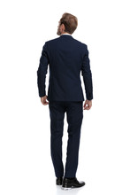 Young Businessman In Navy Blue...