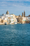 Monopoli and its beautiful old harbour, Bari Province, Puglia (Apulia), southern Italy.