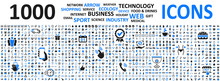 Big Set Icons: Business, Shopp...