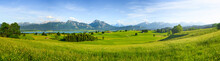 Panorama Of Rural Bavaria, All...