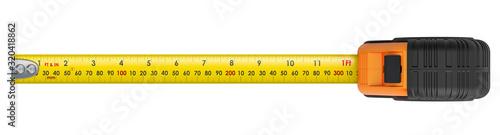 Obraz Tape Measure, 3D rendering - fototapety do salonu