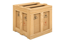 Wooden Box, Crate Or Parcel. 3...