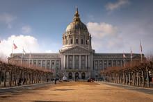 San Francisco City Hall In Cal...