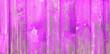 Leinwanddruck Bild - Vintage bright pink Wooden Background