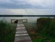 Wood Pier on a beautiful lake