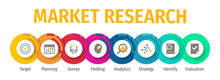 Market Research Flat Vector Ic...