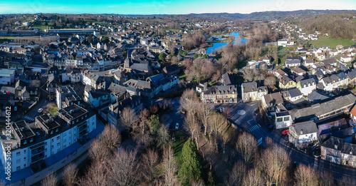 Photo Objat (Corrèze, France) - Vue aérienne