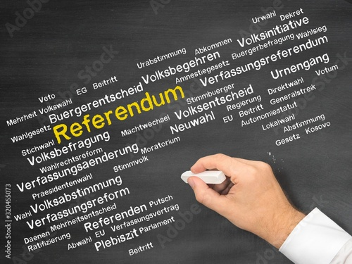 Referendum Fototapet
