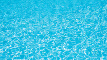 Blue Water In Swimming Pool Fo...