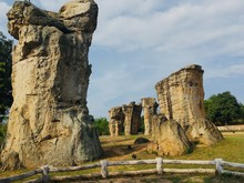 Mor Hin Khao, Thailand Stonehenge At Phu Lan Kha National Park, Chaiyaphum Province Thailand