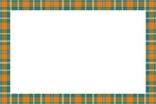 Vintage Frame Vector. Scottish...