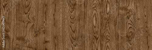 Foto clear panoramic dark wood texture