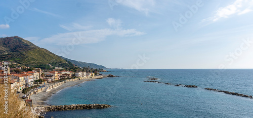 Agnone Cilento village, from Cilento Coast, Italy Wallpaper Mural