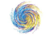 Colorful Dynamic Polka Dot Par...