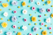 Flowers Composition. Pattern M...