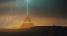 Surreal Sci Fi Landscape, Magi...