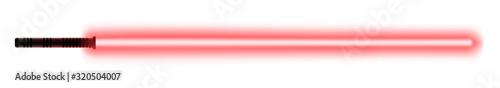 Fototapeta Glowing light sword