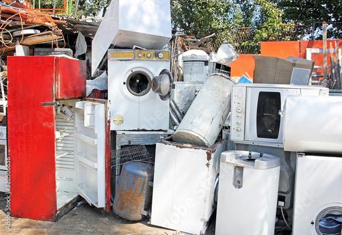 Photo Broken appliances