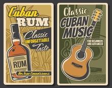 Cuba Retro Vintage Posters, La...