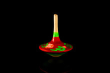 Gyroscope. Spinning Top On A B...