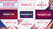 Happy Presidents Day. Set Of G...