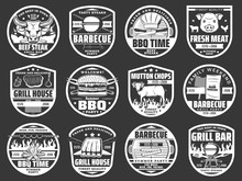 Meat Grill, Burgers And Hot Do...