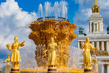 Moscow. Russia. Fountains Of M...