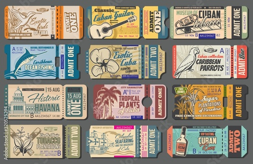 Cuba tours tickets, tourist trips to landmarks and sightseeing attractions Wallpaper Mural