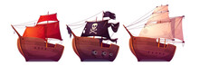 Vector Sail Boats With White, ...