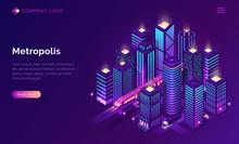Smart City Metropolis Isometri...