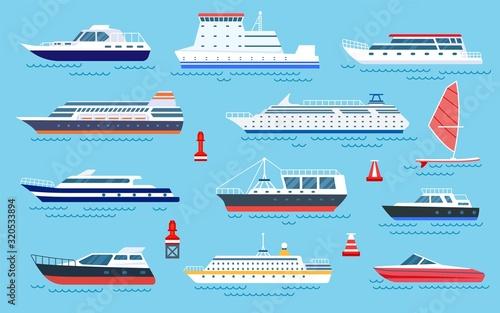 Fotografia Flat ships