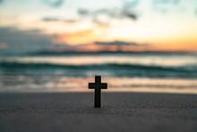 십자가,석양,노을,cross
