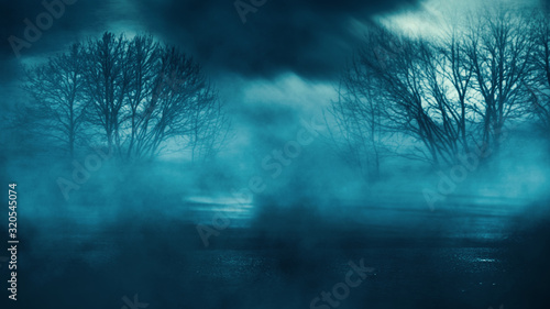dark-empty-dramatic-background-night-dark-sky-in-a-blue-neon-glow-wet-asphalt-background-of-an-empty-night-street-smoke-smog