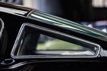 Rear Window Of Black Classic F...