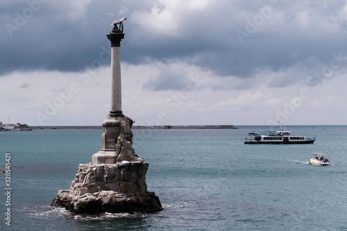 Fotografie, Obraz Monument to the scuttled ships