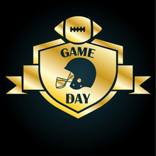 Game Day Football Gold