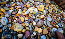 Different Coloured Stones On A...
