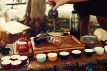 Tea Set For Tea Ceremony. Tea ...