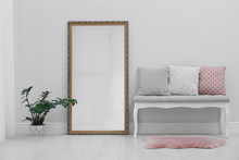 Modern Large Mirror And Comfor...