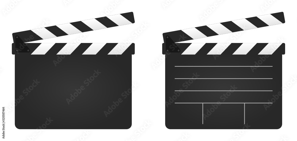 Fototapeta Filmklappe